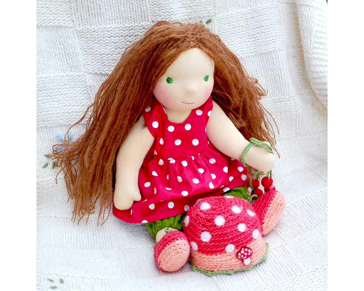 Каркасная кукла своими руками 37