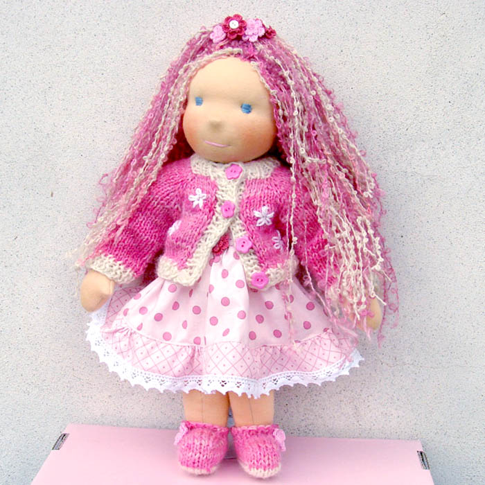 Waldorf doll Angelica 16 in